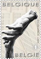 16 Markt Van Antwerpen timbre za zfoto