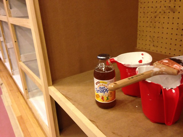 Kitchen Update // Vol. 3, Priming the Cabinets & Setting the Counter Tops