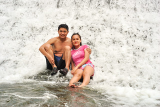 Nikko and Janna Wawa Falls