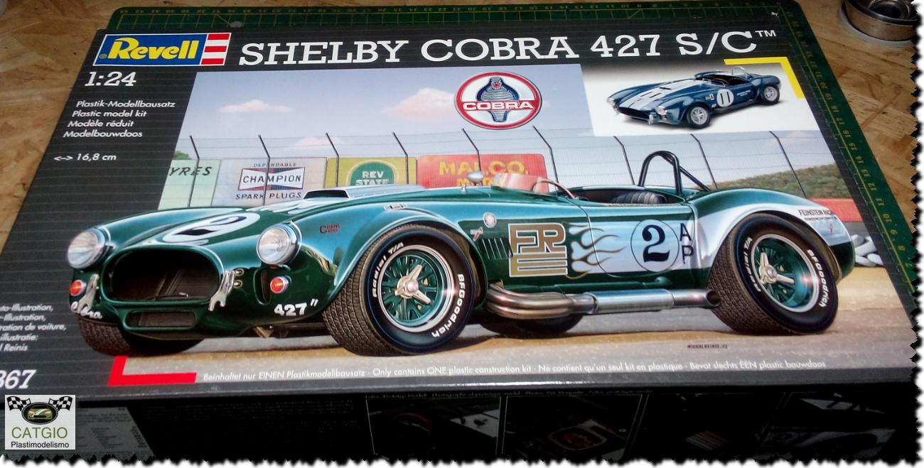 Shelby Cobra S/C - Revell - 01/24 - Finalizado 24/04 17014288675_cea753cd5e_o