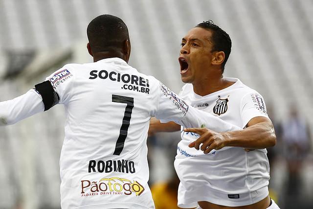 Robinho e Ricardo Oliveira