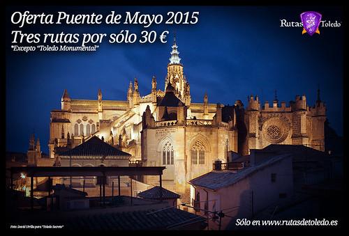 Oferta en rutas para el Puente de Mayo: 3x30 euros