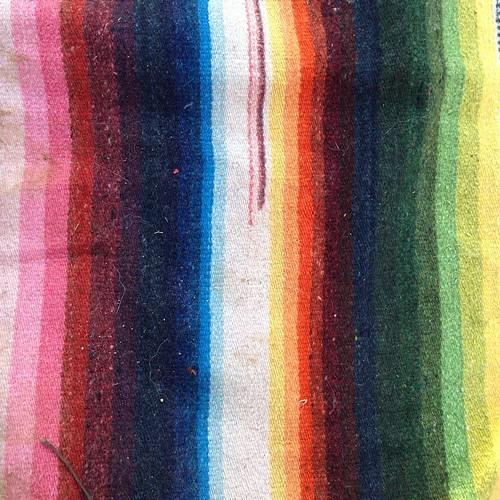 Blanket rainbow.