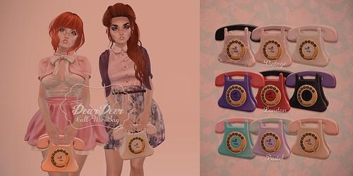Call me bag ♥ @FamouStation April 24th!