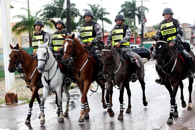 Tropa da PM no Pará entra de prontidão a partir de hoje por causa do impeachment
