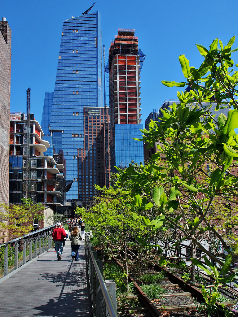 Take The High Line: A Scenic Pedestrian Route In The Middle Of Manhattan | Live now – dream later Travel Blog