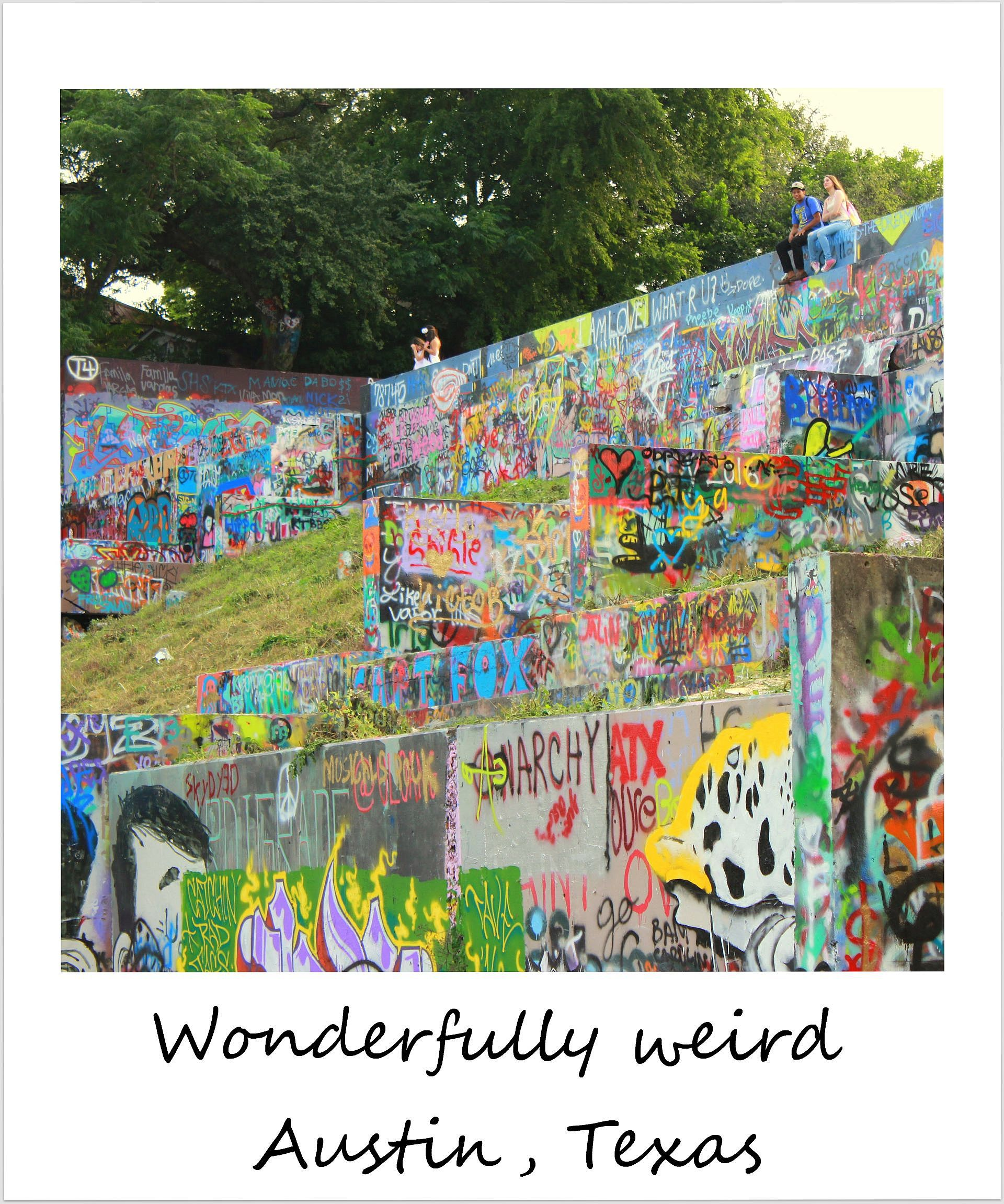 polaroid of the week usa texas austin graffiti park