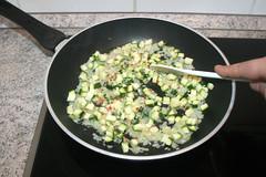 35 - Zucchini andünsten / Braise zucchini