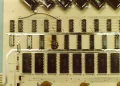 Lomac LM-80L Blown chip on Cross Point Matrix Scan_5-5 5