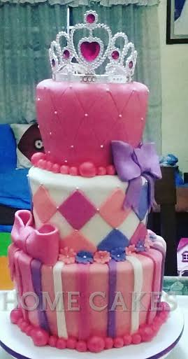 Princess Themed Cake by Sherie Lopez of HOME CAKES