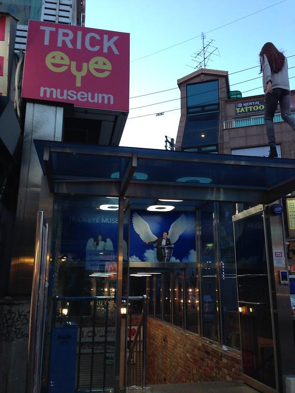 Trick Eye Museum in Hongdae.