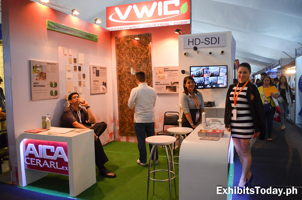 VWIC Exhibit Booth