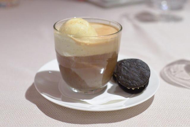 AFFOGATO vanilla gelato, espresso and amaro