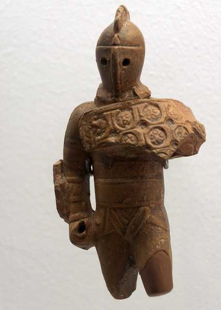 Gladiator Clay And Bone Figurines A Gallery On Flickr