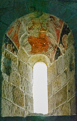 Zamora. Iglesia de San Cipriano. Detalles pictóricos