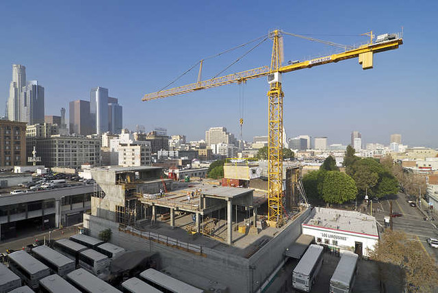 Prefab construction is being used for Meriton's apartment development in North Sydney