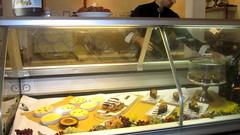 ice cream(0.0), restaurant(0.0), buffet(0.0), gelato(0.0), meal(1.0), display case(1.0), bakery(1.0), food(1.0), dish(1.0),