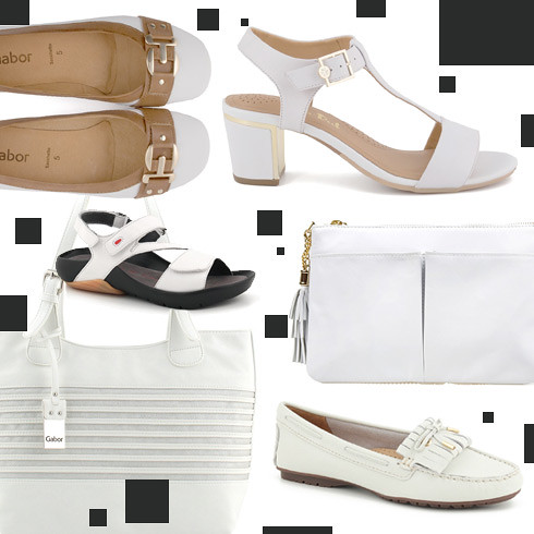How to wear white this spring.