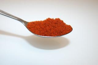 06 - Zutat Paprikapulver edelsüß / Ingredient sweet paprika