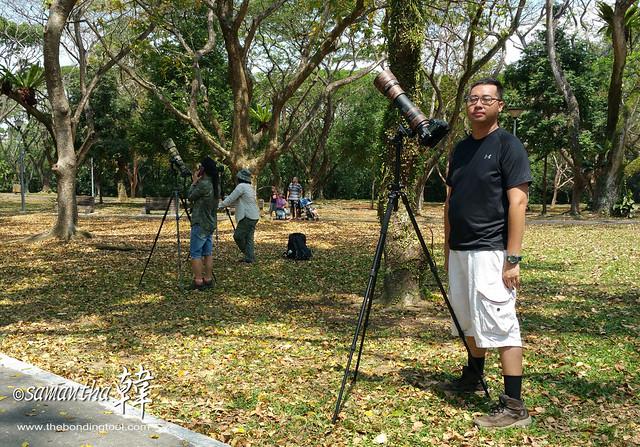 Leonard Birding in Pasir Ris