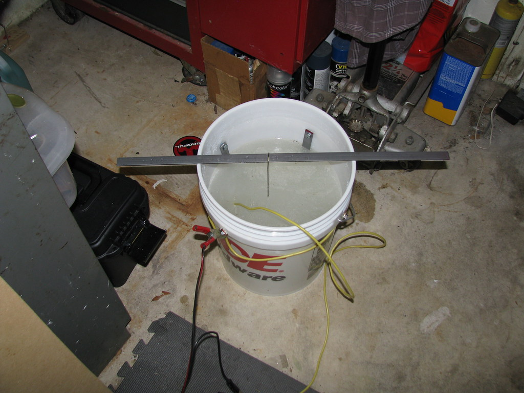 The Abode of McThag: Electrolysis