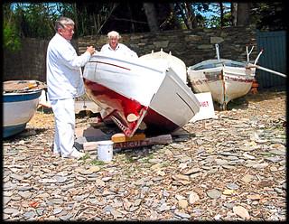 Boat Painters of Port Lligat