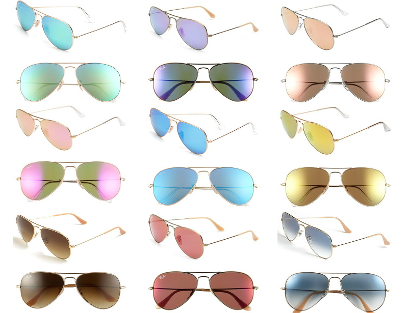 Ray-Ban aviator sunglasses, summer sale, shades, color, sunnies