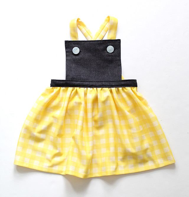 Spring Pinafore DIY