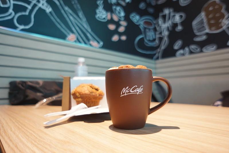 Hot Cappuccino @ McCafe