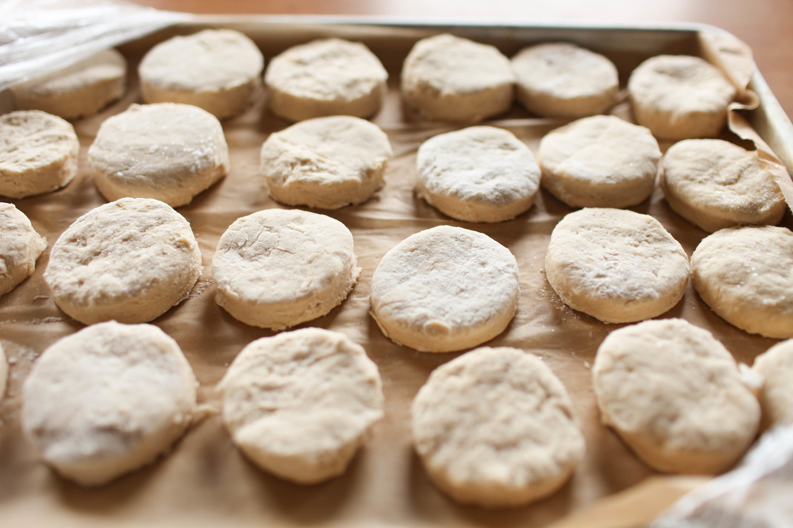 freezer biscuits for communal table