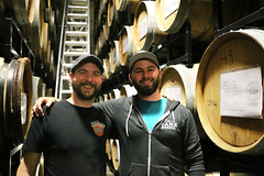Kevin Martin and Jay Goodwin, blenders of delicious sours