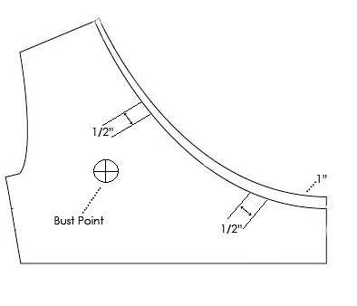 bodice diagram