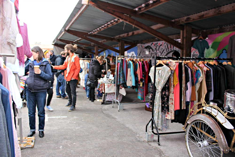 Tobacco Factory Sunday Market Bristol