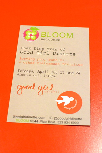 Chef Diep Tran's Good Girl Dinette Pops Up in Mid-City
