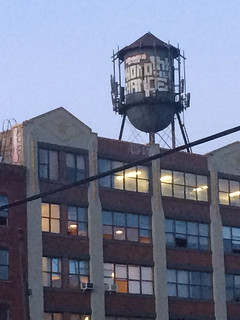 Water Tower after Sunset - NYC