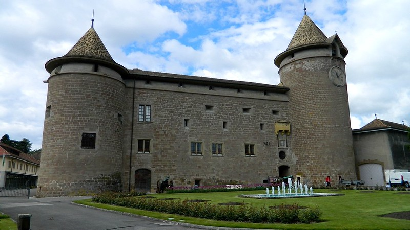 Morges, Morges Castle