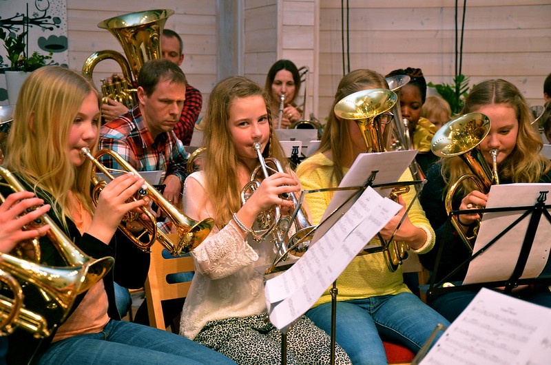 Repetition med Framåt Brassbandet i Åsenhöga