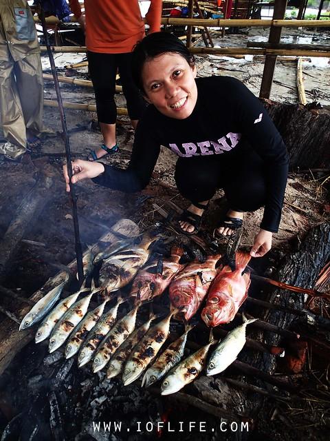 bakar ikan sawai