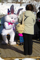 The Easter Bunny At Remsen Depot