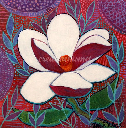 White Gardenia - Art by Regina Lord