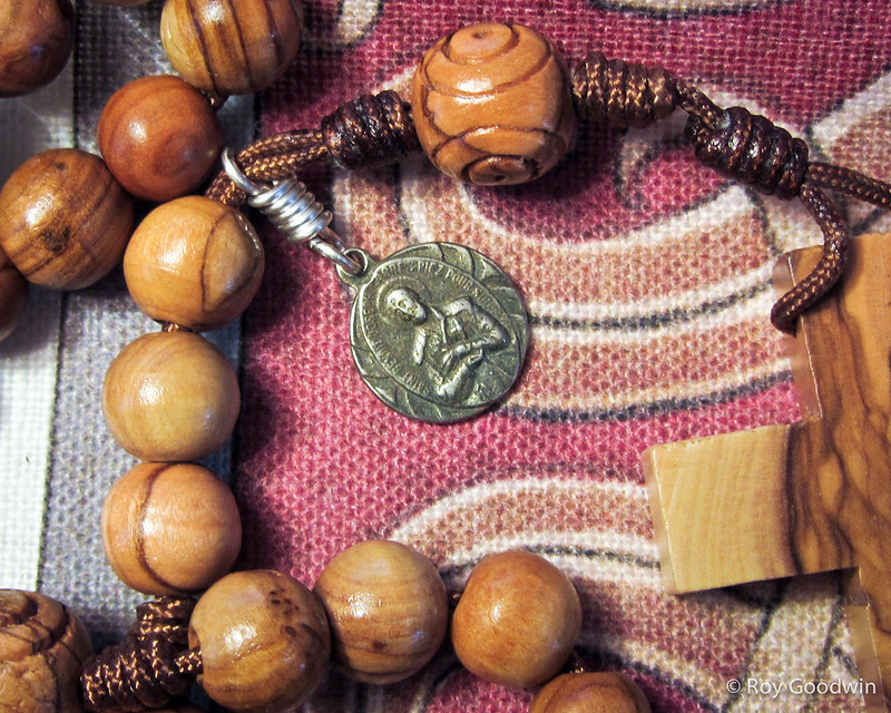 10mm Olive Wood RCC Rosary