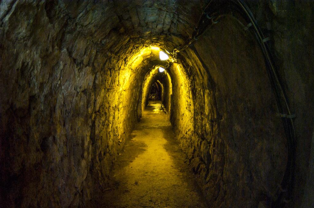 In the mine (Idrija, Slovenija)