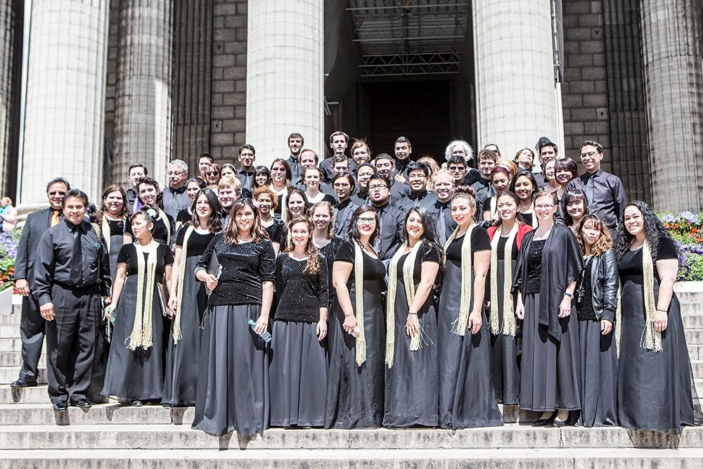San Jose State University Choraliers and West Valley College Chamber Singers 2014 Tour of the United Kingdom and France