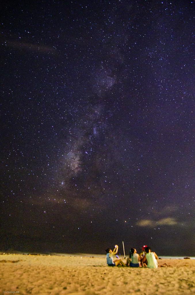 2014年的墾丁夏夜晚風