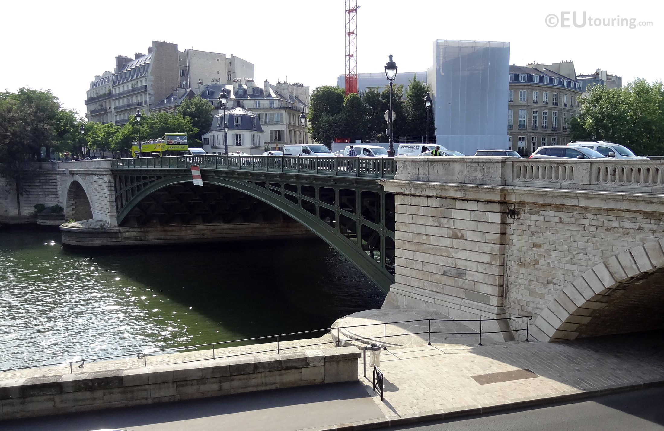 Arches of the Pont de Sully