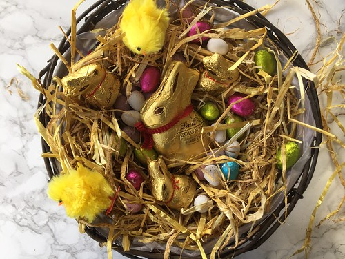 Easter Bunny Chocolate Basket