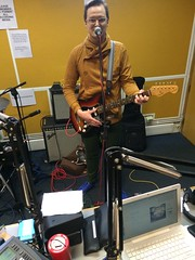 French For Cartridge + Lesley Woods (Au-Pairs) perform live in session on The deXter Bentley Hello GoodBye Show on Resonance 104.4 FM on Saturday 28th March 2015