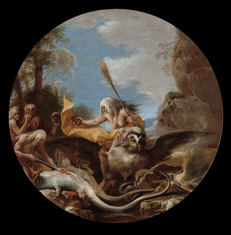Salvator Rosa - Scene with Witches - Day, 1645-1649