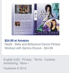 Belly dance on Amazon