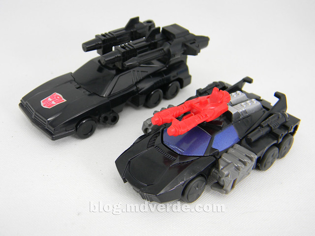 Transformers Scamper - Generations SDCC Exclusive - modo alterno vs G1
